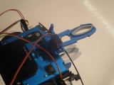 TI-Rover + pare-chocs + pince