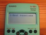 Equation fx-92+ Spéciale Collège