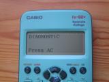 fx-92+SC : diagnostic 9