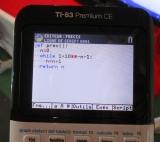 prec() TI-83 Premium CE Python