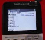menu Trig 83 Premium CE Python