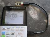 TI-83PCE + Trinket M0