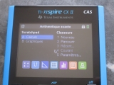 TI-Nspire CX II CAS exam mode
