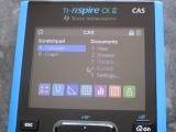 TI-Nspire CX II CAS exam mode