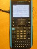 Nspire CX II + Connection cradle