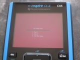 TI-Nspire CX II : boot menu