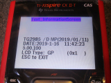 CX II-T CAS hw AH Diags 5.00.100