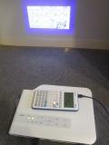 Casio Graph 35+E II + projecteur
