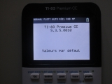 TI-83 Premium CE + OS 5.3.5.10