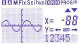 Esquisse GCEXFR : écran