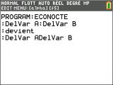 Une utilisation du DelVar