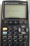 TI-86 Display Sample + ROM 1.0