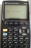 TI-86 Display Sample + ROM 1.0