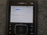 TI-Nspire CX CAS + pyWrite