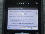 TI-Nspire CX CAS : mode examen