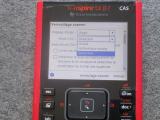 TI-Nspire CX II-T CAS: mode exam