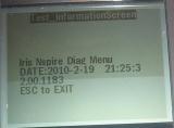 Diagnostic TI-NspireCAS TouchPad