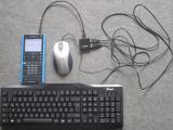 Nspire CX II clavier/souris USB