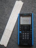 TI-Nspire CX II + Slide Rule Emu