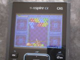TI-Nspire CX CAS + Puzzle Bobble
