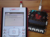 Nspire CX II + micro:bit: SNAKE