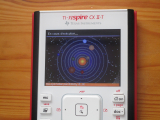 TI-Nspire CX II + Solar (Python)