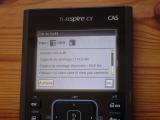 TI-Nspire CX CAS + OS 4.5.4