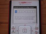 Nspire CX II 5.3: code exam mode