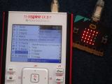 TI-Nspire CX II-T + micro:bit
