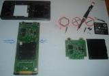 TI-Nspire CX removing PCB (1/4)