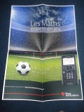 Poster Nspire CX football 2014