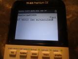 TI-83 Premium CE + MinOnce