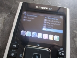 TI-Nspire CX + batterie VHBW