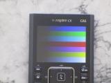 TI-Nspire CX CAS + mire RGB 565