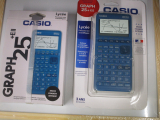 Emballages Casio Graph 25+E II