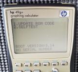 HP 49G+ MS self-test