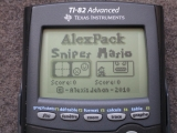 TI-82 Advanced + appli AlexPack