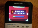 TI-83PCE: Jumper (Geometry Dash)