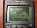TI-82 Advanced + Annihilation