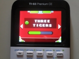 TI-83PCE: 3 Tigers Geometry Dash