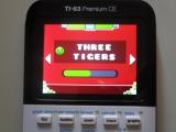 TI-83PCE: 3 Tigers Geometry Dash