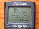TI-82 Advanced + applis BacPro