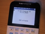 TI-83 Premium CE + OS 5.3.5