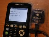 TI-84 Plus CE + PyAdaptr