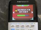 TI-83PCE: Satellix Geometry Dash