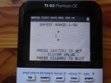 TI-83 Premium CE Adv Wait States
