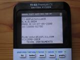 renommage TI-83 Pythonium CE
