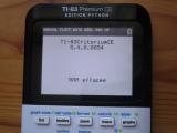 renommage TI-83 Critorium CE