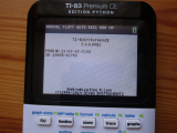TI-83PCEPY downgradée 5.0.0.0082