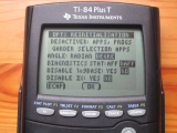 TI-84 Plus T : mode examen